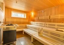 Finnische Saune im Sporthotel Grünberg